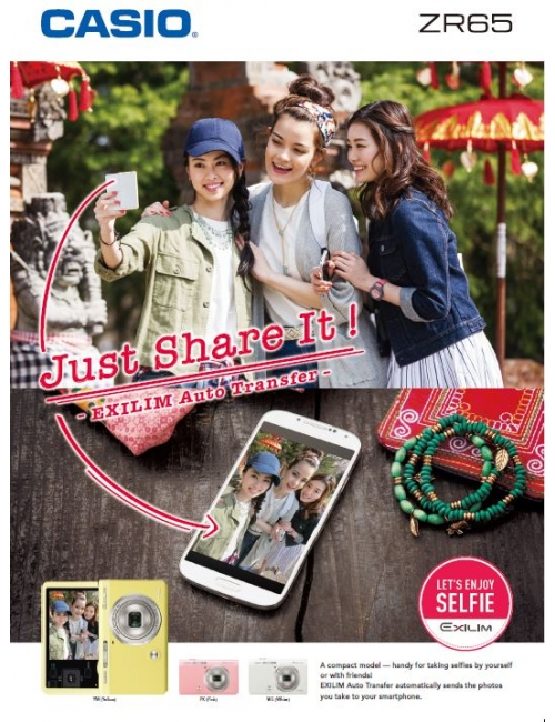 Casio EX-65-More than enough easy and enjoyable options for taking selfies and group shots!